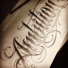 ideas tattoo forearm script typography for 2019 - tattoo, jewerly, other accessories - Tattoo Lettering Styles, Chicano Lettering, Tattoo Lettering Fonts, Lettering Design, Hand Lettering, Letras Tattoo, Schrift Tattoos, Desenho Tattoo, Graffiti Lettering