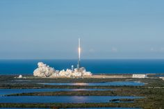 In Photos: SpaceX Launches, Lands 1st Reused Falcon 9 Rocket A SpaceX Falcon 9 rocket with a used first stage launches the SES-10 communications satellite from Kennedy Space Center in Florida on March 30, 2017. Read more.