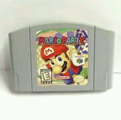 Mario Party Nintendo 64 Game - N64 Video Game