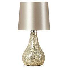 Champagne Mosaic Table Lamp - or any crackle based one out there really :b