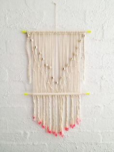 If you still haven't been cought up in the Macrame Madness then you don't know what you are missing on! There are so many things you can do by simply using this antiquetechnique. All you need is inspiration and ideas, but first let us tell you a bit more about Macrame. Macramé or macrame is a form of textile-making using knotting rather than weaving or knitting. Its primary knots are the square knot and forms of 'hitching'-full hitch and double half hitches. The word itself comes from…