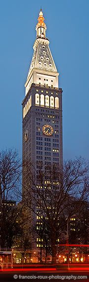 Met-Life Tower at Madison and 23rd Street, presently being converted to the New York Edition Hotel.    NEW YORK CITY.