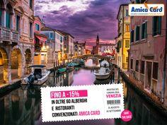Per il tuo soggiorno a #Venezia scegli Amica Card, con oltre 60 #alberghi e #ristoranti pronti ad accoglierti con sconti fino al 15%. Dal 31 agosto al 10 settembre, Venezia sarà avvolta da un'aura di #cultura e #glamour in occasione della Mostra del Cinema 2016, un evento esclusivo a cui parteciperanno attori e registi di fama internazionale. La città sarà sotto i riflettori di tutto il mondo e si arricchirà di manifestazioni ed eventi imperdibili.   #cinema #Italia #AmicaCard #convenzioni