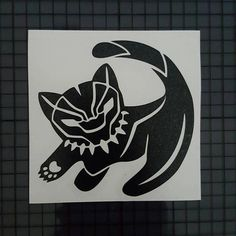 Marvel Comics / Disney Crossover Decal - Black Panther Simba Cub - Solid Design Choose from 3 sizes and 16 color choices. Custom sizes available upon request. You can apply this decal to any clean, flat surface: - laptops / tablets - windows / glass - cars / trucks - etc. ~ This
