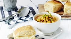 Chana Masala, Soup Recipes, Cantaloupe, Curry, Food And Drink, Cheese, Fruit, Ethnic Recipes, Koti