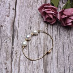 Copper Bangle Bracelets with Baroque Pearl Bridesmaid Gift - Copper Bracelets . - Copper Bangle Bracelets with Baroque Pearl Bridesmaid Gift – Copper Bangle Bracelets with Baroque - Floating Pearl Necklace, Baroque Pearl Necklace, Baroque Pearls, Pearl Necklaces, Pearl Jewelry, Gemstone Jewelry, Pearl Bracelets, Gold Pearl, Pearl Ring