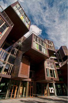 Denmark - Copenhagen - Orestad - Tietgen Dormitory