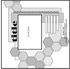 """ScrapBook Ideas: Sketch para """"Libres de ácido"""""""