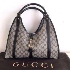 ab9937c2c9b Authentic Gucci Monogram Signature GG Hobo