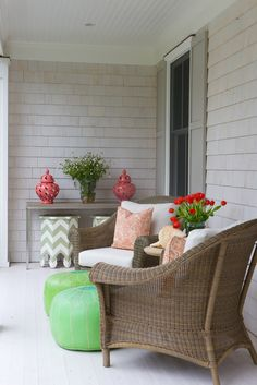 porch decor bryan road - Nightingale Design