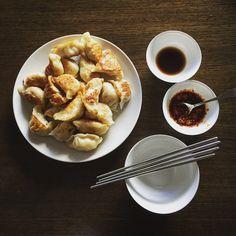 Chinese Pork Dumplings (jiaozi) via @feedfeed on https://thefeedfeed.com/ricekitchen/chinese-pork-dumplings-jiaozi