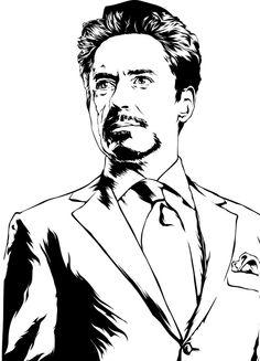 Avengers Drawings, Avengers Art, Marvel Art, Art Drawings Beautiful, Cool Art Drawings, Art Drawings Sketches, Iron Man Kunst, Iron Man Art, Tony Stark