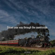 See the Valley of a Thousand Hills on a 1912 locomotive on the Stuff To Do, Things To Do, Locomotive, Countryside, Let It Be, Movies, Movie Posters, Instagram, 2016 Movies