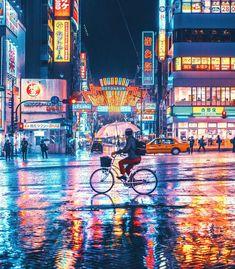 Neon Lights of D?tonbori in Osaka, Japan & Photography Cyberpunk City, Ville Cyberpunk, Cyberpunk Fashion, Urban Photography, Street Photography, Landscape Photography, Animal Photography, Photography Portraits, Photography Camera