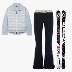 As seen in Vogue - Erin Snow Teri flared ski pants a2d4a55c7