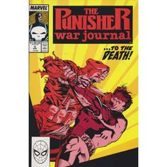 PUNISHER: WAR JOURNAL #5 | $4.80 | 1988-1995 | VOLUME 1 | MARVEL | April 1989