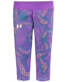 Under Armour Girls' Alpha Printed Capri Pants - Kids - Macy's