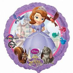 """Anagram 9 inch Sofia the FirstQUALITY PRODUCTS ALWAYSOUR PRODUCTS ARE 100% AUTHENTIC & GENUINE100% OF THE TIMEImportant information on 9""""/14 '/16 'inch airfill Foilballoons9 '/14 '/16 'inch mylar orfoil balloons are considered airfill balloons.They do not float with helium and require heat sealing.Why 9""""/14 '/16 'inch foil balloons cannotfloat with helium?They will not float because the amount of helium gas in the balloon is not enough to overcome the actual weight of the foil…"""