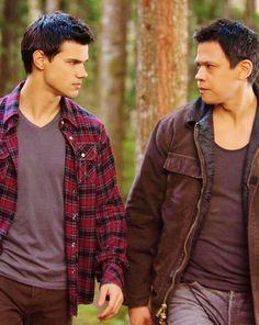 Jacob and Sam in Breaking Dawn 1.... #TwilightSaga