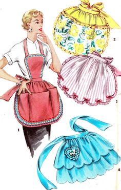 Vintage Sewing Pattern 1950s Simplicity 4938 One by paneenjerez, $18.00