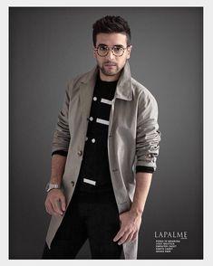Repost ilvoloheart Piero for LaPalme magazine #pierobarone #ilvolo