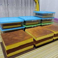 Cake Recipes, Snack Recipes, Dessert Recipes, Snacks, Desserts, Mini Cakes, Cupcake Cakes, Lapis Surabaya, Resep Cake