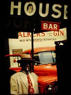 Saul Leiter's 1950s New York in colour #truenewyork #lovenyc