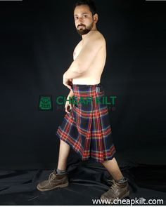 The knife pleated Black Stewart Tartan Kilt is perfect for men who are looking for comfort and style in a tartan kilt. kilts for sale, kilts for men Kilts For Sale, Stewart Tartan, Tartan Kilt, Men In Kilts, Acrylic Wool, Custom Made, Belts, Denim, Stylish