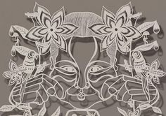 Paper Cut-Out Art Pieces by Bovey Lee | Inspiration Grid | Design Inspiration