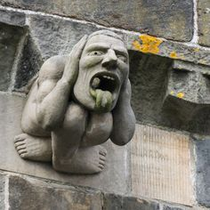 alien carving on cathedral - Google Search