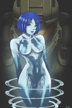 Cortana by Madcatstudios