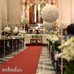 no olvides decorar con flores tu camino al altar ebodas wedding ebodas