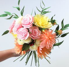 All Things Paper: Crepe Paper Flowers by A Petal Unfolds