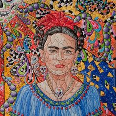 frida kahlo de rivera glass painting Sony Xperia Z case cover Skin Wars, Kahlo Paintings, Pomsky Puppies, Mosaic Portrait, Hello Winter, Diego Rivera, Action Poses, Digital Portrait, Portrait Photography