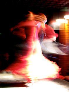 Flamenco Dancers....flowing....