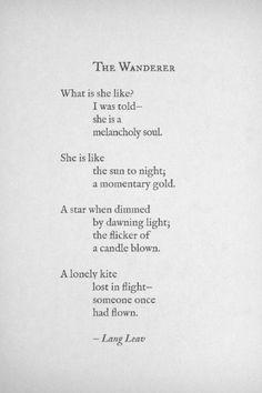 soul searching...