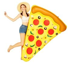 "MarlJohns Giant Inflatable Pizza Slice 72""x60"" Marljohns"