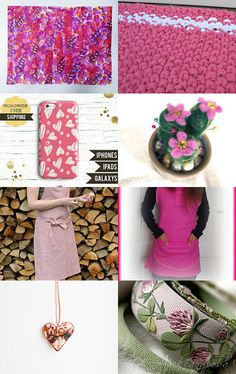 Think Pink!! by Helen on Etsy--Pinned with TreasuryPin.com