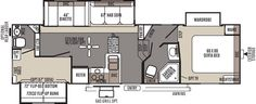 Rockwood Signature Ultra Lite Fifth Wheel by Forest River Love this new floor plan!