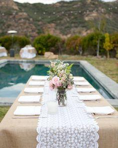 Best 25 Burlap Tablecloth Ideas On Pinterest Rent