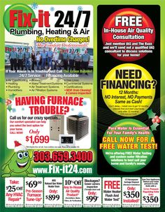 Hi everyone! Check out our December #HVAC service specials!