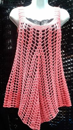there is a link for several summer knit tops and dresses. NOT CROCHET, but will try to replicate this summer. would assume is finger weight yarn