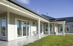 Classic, ageless all timber A-line cladding won this Albury House at the South Canterbury Registered Master Builders' 2011 House of the Year awards.