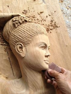 Wood Carving by Phadung