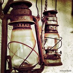 Old and rusty lanterns. by roscoedude, via Flickr