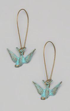 Sparrow earrings
