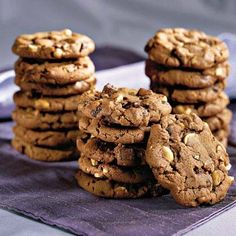 Chocolate Chunk-Peanut Cookies | Cookie Countdown | MyRecipes.com