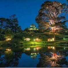 Hobbiton Movie Set, New Zealand Photo By @shaun_jeffers.