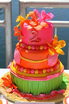 Hawaiian Luau Birthday Party Ideas | Photo 16 of 22