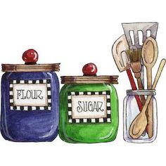 1000 images about dibujos para decorar cocinas on - Cosas de cocina ...